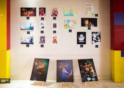 Sản phẩm trưng bày tại Creative Park 2016
