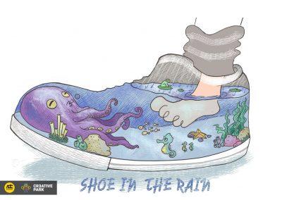 Shoe In The Rain