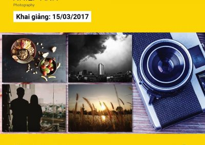 Khóa học Photography – Nhiếp Ảnh
