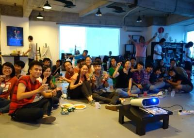 BUỔI FEEDBACK + PARTY CUỐI MÔN DRAWING 1 – LỚP DÀI HẠN K01