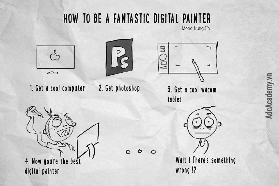 How to be a fantastic digital painter