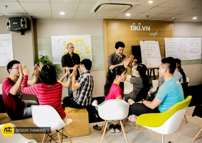 TRAINING DESIGN THINKING TẠI TIKI.VN