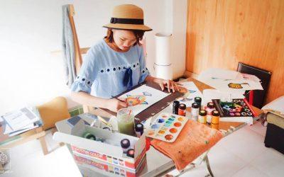 Là người làm handmade, tôi đang phải lòng chính mình.